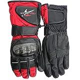ZXJ Männer Handschuhe All-Finger Verschleißfest Handschuhe Für Motorrad Rennsport Reiten Übung Warm bleiben Handschu