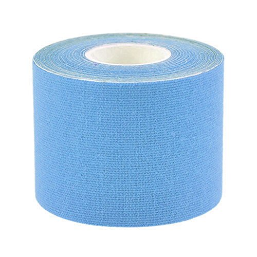 Da.Wa Muskel Tape Kinesiology Tape 5m x 5cm 1 Roll Elastisches Therapeutisches Tape für Sport Plantar Fasciitis Ankle Shin Schienen Knie Ellenbogen Handgelenk Rücken Schulter Hals