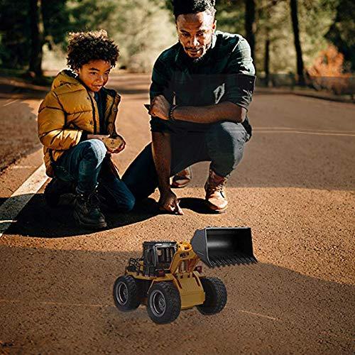RC Auto kaufen Baufahrzeug Bild 6: Kldstar Ferngesteuertes Auto, RC LKW, Legierung, Schaufel Loader Traktor 2,4 G Radio Baufahrzeug Elektronisches Spielzeug? RC Auto LKW Geschenk*
