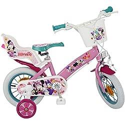 Toimsa, Bicicleta para Niñas Minnie, Rosa (611)