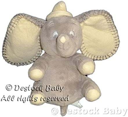 Peluche doudou Elephant gris DUMBO Disney Disney Disney Nicotoy H 18 cm   Avoir à La Fois La Qualité De La Ténacité Et De Dureté  7dd9c1