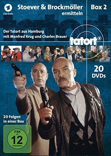 Tatort - Stoever & Brockmöller ermitteln - Der Tatort aus Hamburg Box 2 [21 DVDs]