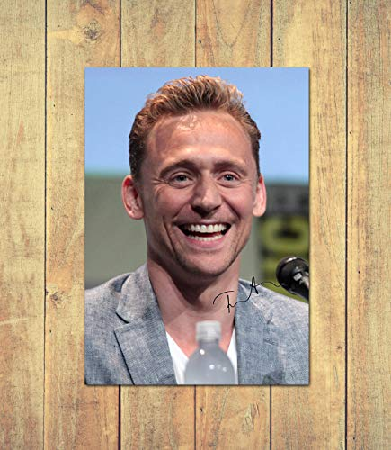 Tom Hiddleston - Loki 2 - High Gloss Printed Poster - A4 (210 x 297 mm) Personalised