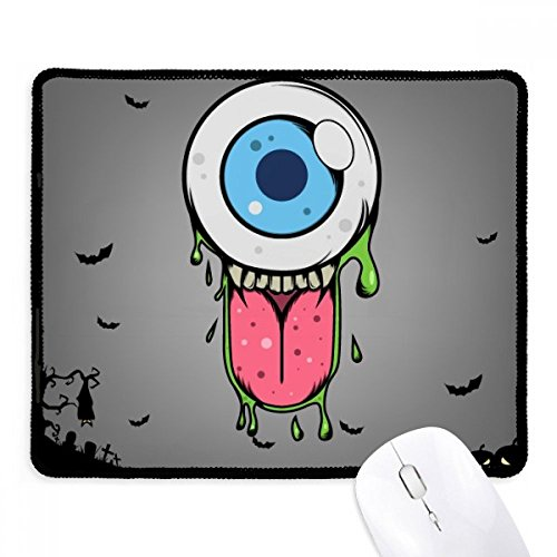 UNIVERSUM und Alien Halloween Monster rutschfeste Mauspad Spiel Office schwarz titched Kanten Geschenk (Für Office Halloween-spiele)