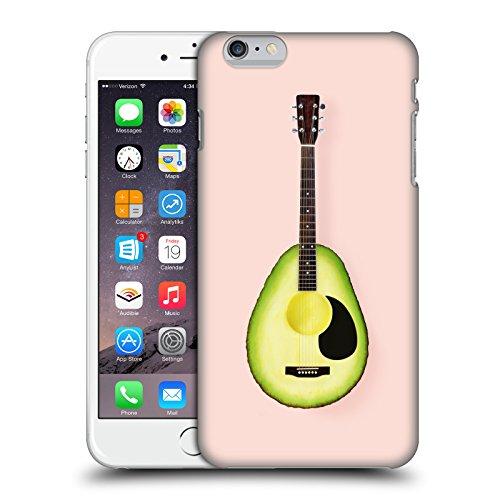 Offizielle Paul Fuentes Flamingo Quadrat Pastell Ruckseite Hülle für Apple iPhone 7 Avocado Gitarre