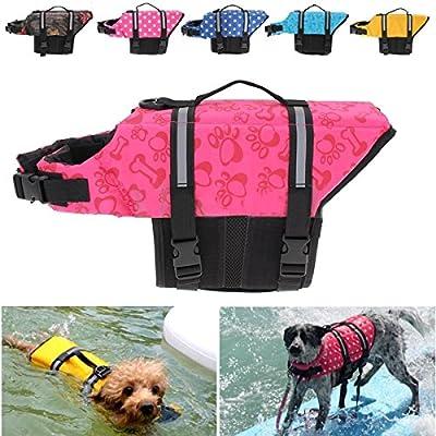 Pet Hund Schwimmen Sicherheit Jacke Weste Jacke