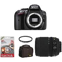 D5300 Kit inkl. AF-S DX 3,5-5,6 / 18-105 mm G ED VR schwarz in Nikon D5300 + Nikkor 18/105VR