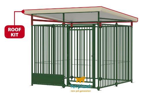 Artikelbild: Ferplast 87085013 Dach für Hundezwinger ROOF KIT, Maße: 200 x 200 x 32 cm