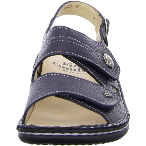 Finn Comfort, 2560-277210, Milos Sandale Damen, Blau/indigo Blau