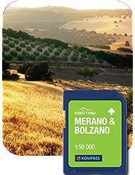 Satmap mapcard: Meran/Bozen 1: 50K
