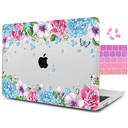 Dongke Schutzhülle für MacBook Pro 15 Zoll (38,1 cm) 2012-2015, Hartschale, mit Tastatur-Abdeckung für MacBook Pro 15 mit Retina Display A1398 Mehrfarbig J242 (Macbook Pro 2012 Tastatur-abdeckung)