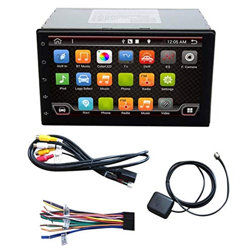 7-Zoll-Display Double 2 Din Auto-Navigator Satelliten-Navigations-Auto GPS-Stereoradio Wifi Auto Kompass für Android 6.0