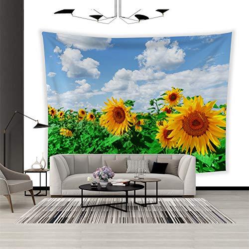 jzxjzx Tapisserie wandbehang nordischen Stil einfache Pflanze Foto Schlafzimmer Wohnzimmer Dekoration Tuch 6 150 * 130 -