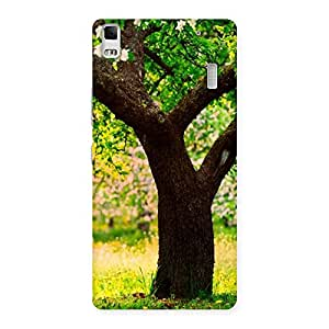Enticing Green New Tree Back Case Cover for Lenovo K3 Note