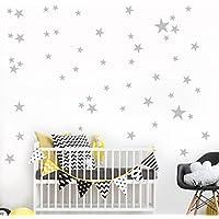 ❤️Pegatinas de pared❤️Dragon868 38Pcs Little Stars vinilo mural pegatinas de pared