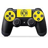 Sony Playstation 4 Controller Folie Skin Sticker aus Vinyl-Folie Aufkleber Borussia Dortmund BVB Fanartikel medium image