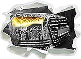 Audi Motor, Papier 3D-Wandsticker Format: 92x67 cm Wanddekoration 3D-Wandaufkleber Wandtattoo