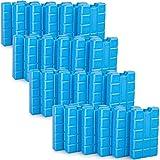 Kühlakkus Groß Flach Kühlelemente für Kühltasche und Kühlbox Kühlpack (24 Stueck)