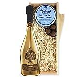 Armand de Brignac Gold Milch Ankunft wurde ich schon von Pralinen von Charbonnel Schokolade