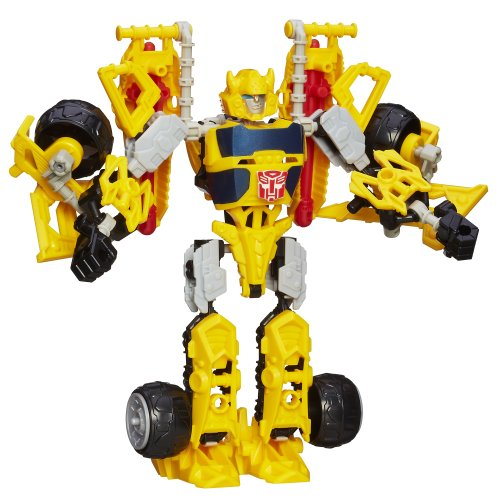 TRANSFORMERS CONSTRUCT-A-BOT TRIPLE CHANGER BUMBLEBEE ACTIONFIGUREN SET