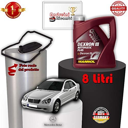 KIT FILTRO CAMBIO AUTO E OLIO C 220 CDI W203 100KW 2002 -> 2007 1015