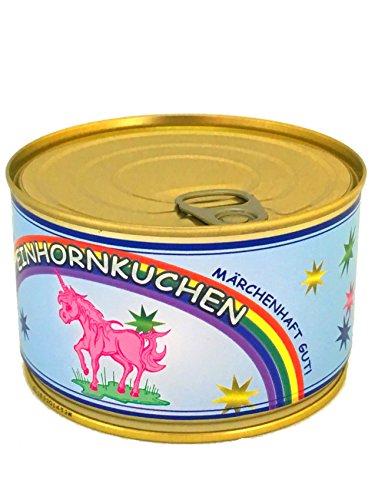 Einhorn Kuchen In Der Dose Gebacken Regenbogenkuchen Einhorn Artikel