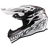 Wulf Sceptre Motocross Helmet M Black/White