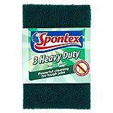 Spontex Heavy Duty Scourer Pads - Pack of 6, Total 18