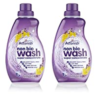 2 X Astonish Super Concentrated Non Bio Lavender Ylang Ylang Liquid Laundry 28