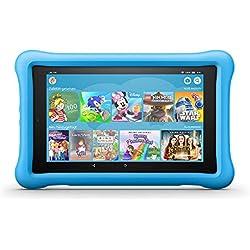 Das neue FireHD8 KidsEdition-Tablet, 8-Zoll-HD-Display, 32GB, blaue kindgerechte Hülle Fire HD