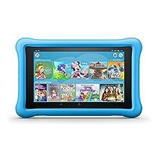 "Amazon Fire Tablet 8 Kids Edition, 20,30cm (8"") HD IPS Display, 32 GB Speicher, blaue kindgerechte Hülle (B0794SNF6C)"