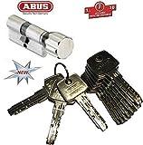 ABUS EC550 Profil-Knaufzylinder Länge Z45/K40mm mit 10 Schlüssel