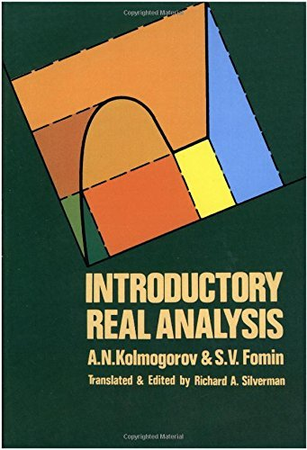 Introductory Real Analysis (Dover Books on Mathematics) by A. N. Kolmogorov (2000-01-02)