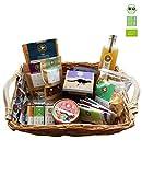 eat Performance® XL Geschenkkorb (17 Artikel + Korb) - Bio, Paleo, Glutenfrei Aus 100% Natürlichen Zutaten
