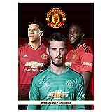 Mufc Official Manchester United (Premier League) 2019 Football Calendar (A3)