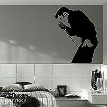 [B.Z.D] Morden Elvis Presley Murals Art Decals Removable Home Decor Vinyl Wall Stickers 60 x 80cm by HomeDecor69