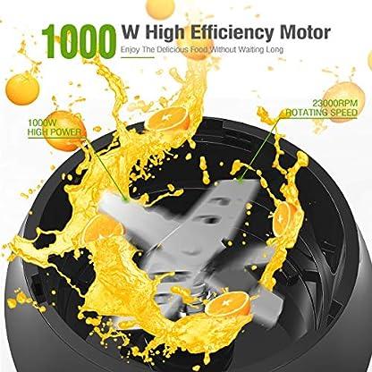 Sancusto-Smoothie-Maker-1000-Watt-Standmixer-mit-6-Edelstahlmesser-2-Trinkbecher-700ml500ml-BPA-frei-Splmaschinenfest-Edelstahl