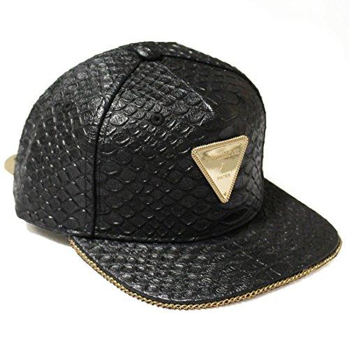 Hater Schlangenhaut Gold Chain Strapback Mütze (Adidas Galaxy Cap)