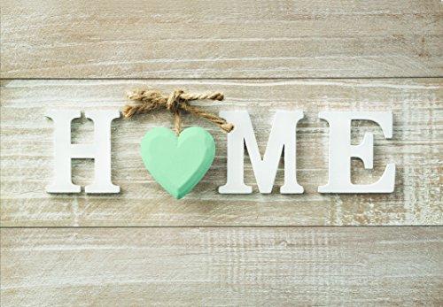 Alfombra de cocina, lavable en lavadora, alfombra cocina,52cm x 75cm, antiácaros, antideslizante, alfombra de cocina diseño home,100% made in Italy,alfombra de cocina diseño de impresión digital