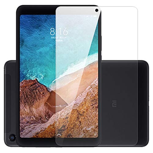TECHSHIELD Xiaomi Mi Pad 4 [8 inch] [2018 Model] Tablet Tempered Glass,[Flexible] 2.5D Curved .3m Screen Protector [Edge to Edge]