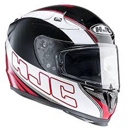 Hjc helmets r-pha 10 plus serpens mc - 1 casque de moto XXL - Noir/blanc/rouge