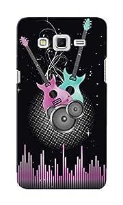 CimaCase Guitars Designer 3D Printed Case Cover For Samsung Galaxy Grand 2