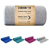 Zoegate Mikrofaser Yoga Handtuch - Wet Grip - Antirutsch Yogatuch