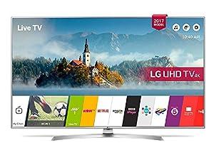 LG 49UJ701V 49 Inch SMART 4K Ultra HD HDR LED TV Freeview Play USB Recording