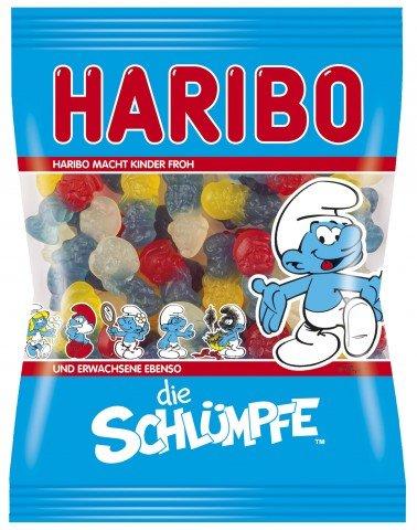 Haribo Schlümpfe, 6er Pack (6 x (Schlumpfine Halloween)