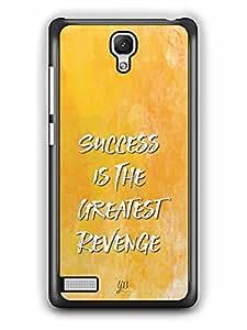 YuBingo Success is the Greatest Revenge Designer Mobile Case Back Cover for Xiaomi Redmi Note