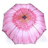 Taschen Regenschirm Pink Gerbera