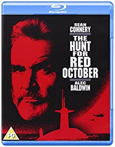 The Hunt for Red October [Blu-ray] [1990] [Region Free]
