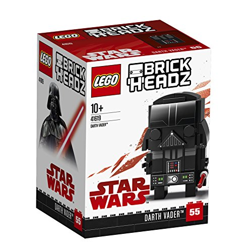 LEGO Brickheadz – Dark Vador – 41619 – Jeu de Construction