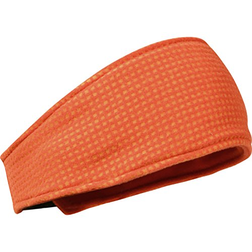 Turtle doppelten Midweight Polartec Thermal Pro Grid Haarband, Unisex, Sunset/Poppy Polartec Thermal